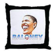 Obama Baloney Throw Pillow