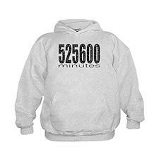 525600 Minutes Hoodie