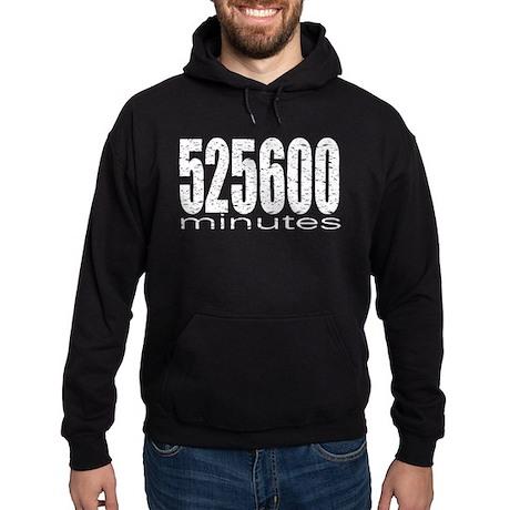 525600 Minutes Hoodie (dark)