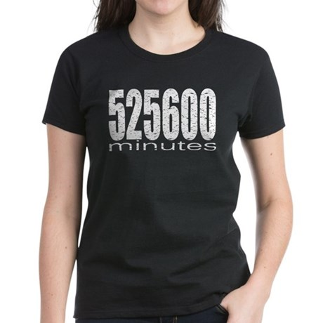 525600 Minutes Women's Dark T-Shirt