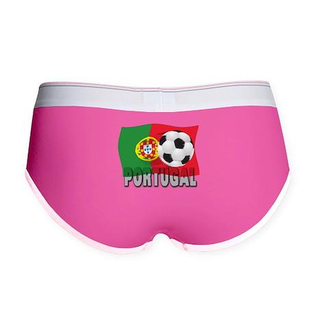 Portugal soccer Women's Boy Brief