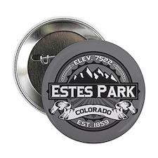 """Estes Park Grey 2.25"""" Button"""