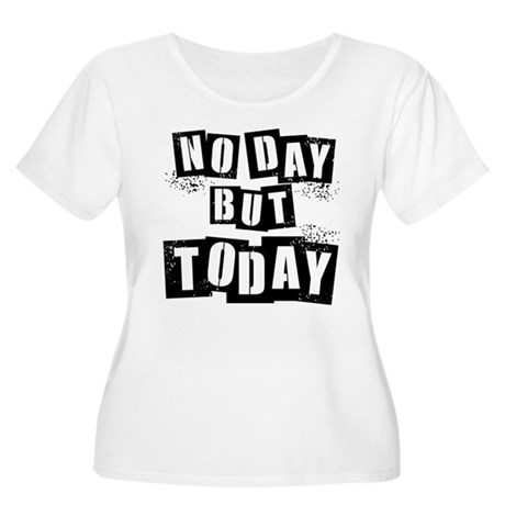 No Day Women's Plus Size Scoop Neck T-Shirt