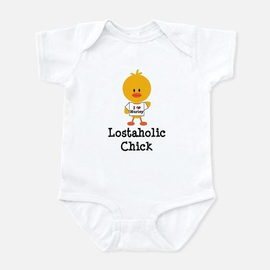 Hurley Lostaholic Chick Infant Bodysuit