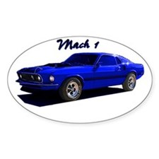 Mach 1 Oval Decal