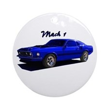 Mach 1 Ornament (Round)