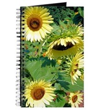 Gorgeous Sunflowers Journal