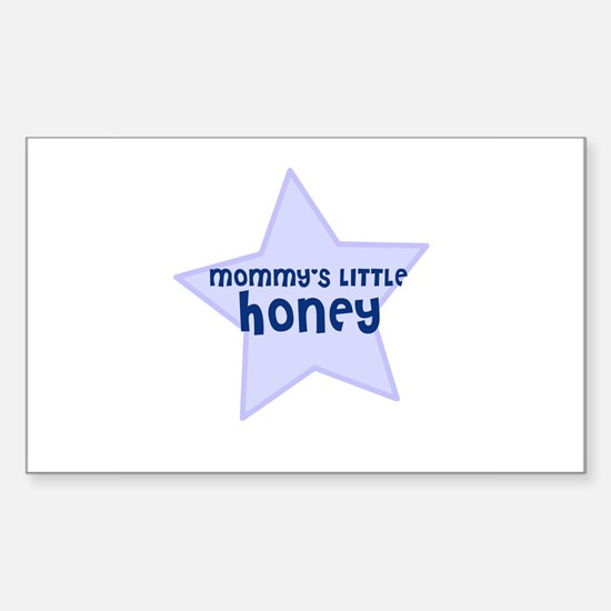 Mommy's Little Honey Rectangle Decal