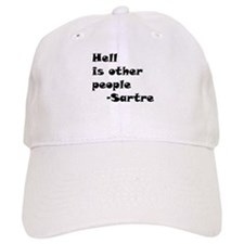 Hell is Other People Baseball Cap