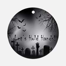 Let's Hold Hands Ornament (Round)