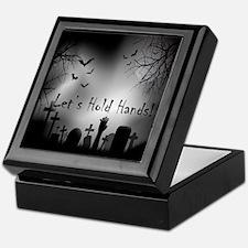 Let's Hold Hands Keepsake Box