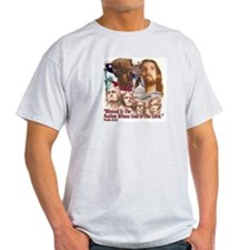Blessed Nation Ash Grey T-Shirt