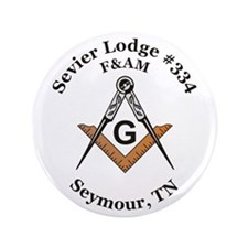 "Sevier Lodge #334 3.5"" Button"