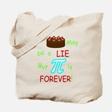 Cake vs Pi Tote Bag