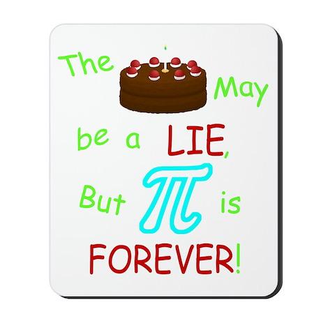 Cake vs Pi Mousepad
