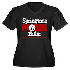 Springtime for Hitler Women's Plus Size V-Neck Dar
