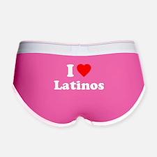 I Love [Heart] Latinos Women's Boy Brief