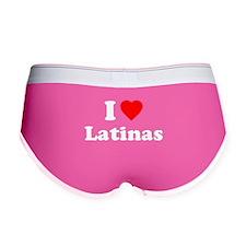 I Love [Heart] Latinas Women's Boy Brief