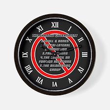 Anti-Masonic Wall Clock