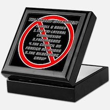 Anti-Masonic Keepsake Box