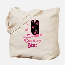 Country Star Tote Bag
