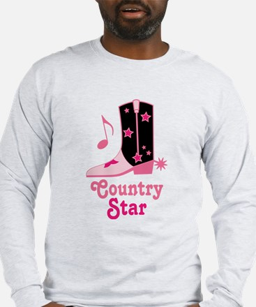 Country Star Long Sleeve T-Shirt