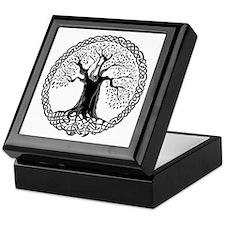 Celtic Wisdom Tree I.V. Keepsake Box