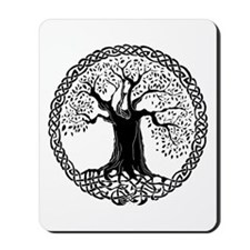 Celtic Wisdom Tree I.V. Mousepad