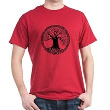 Celtic Wisdom Tree I.V. T-Shirt