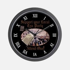 Government Wall Clock