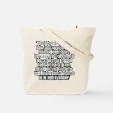 Retirement Mansion Tote Bag