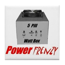 Power Frenzy Tile Coaster