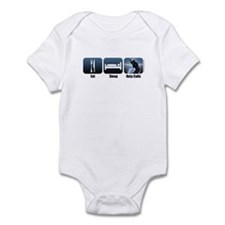 Eat, Sleep, Duty Calls Infant Bodysuit