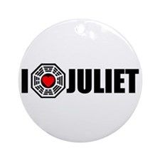 I Love Juliet - Dharma Ornament (Round)