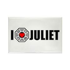I Love Juliet - Dharma Rectangle Magnet
