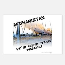 Afghanistan is Off the Hook Postcards (Package of