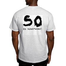 Bad Things Good People Ash Grey T-Shirt