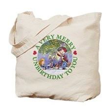 A VERY MERRY UNBIRTHDAY Tote Bag
