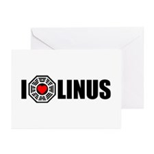 I Love Linus - Dharma Greeting Cards (Pk of 10)