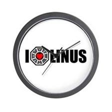 I Love Linus - Dharma Wall Clock