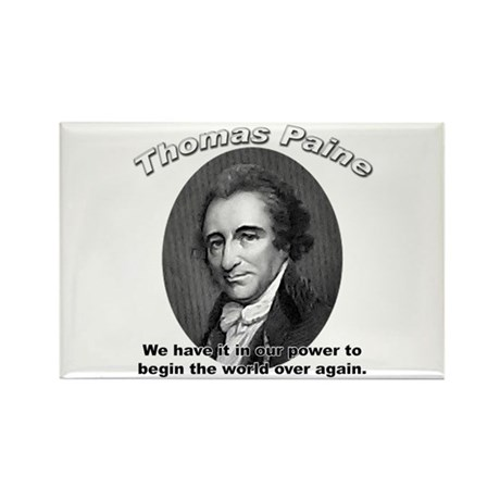 Thomas Paine 01 Rectangle Magnet (10 pack)