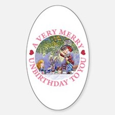 A VERY MERRY UNBIRTHDAY Decal