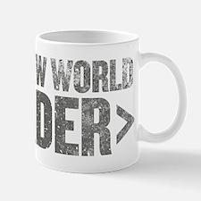 New World Order End Tag Mug