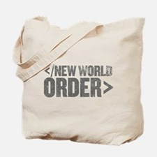 New World Order End Tag Tote Bag