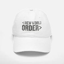 New World Order End Tag Baseball Baseball Cap
