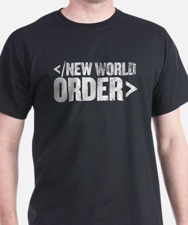 New World Order End Tag T-Shirt