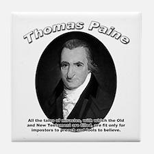 Thomas Paine 04 Tile Coaster