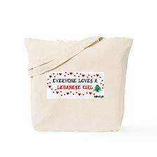 Everyone Loves a Lebanese Gir Tote Bag