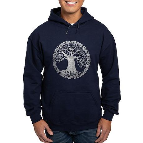 Celtic Wisdom Tree I.V. Hoodie (dark)