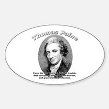Thomas Paine 05 Oval Decal